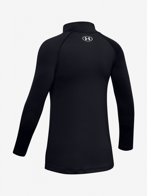 Tričko Under Armour Coldgear Ls Mock-Blk