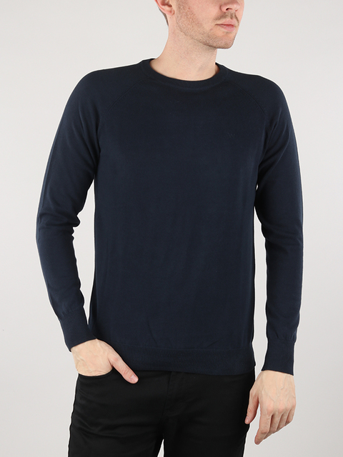 Svetr Wrangler Raglan Knit Total Eclipse