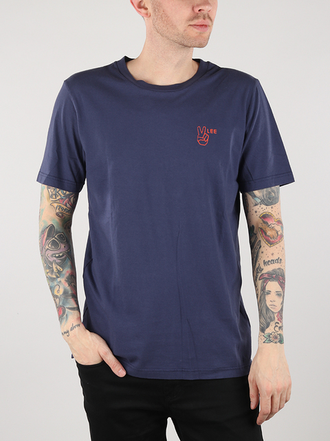 Tričko Lee Tee Dusk Blue