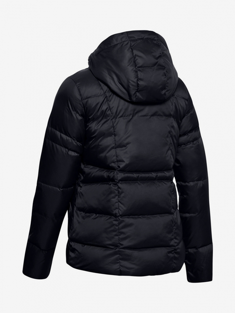 Bunda Under Armour Down Hooded Jkt-Blk