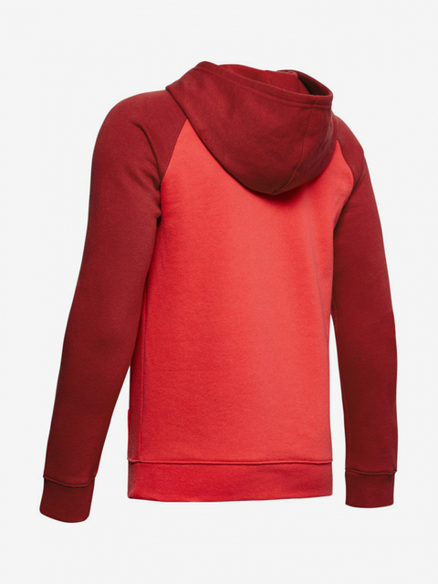 Mikina Under Armour Rival Logo Hoodie-Red
