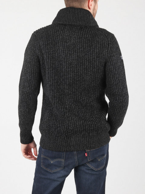 Svetr Superdry Jacob Shawl Cardigan