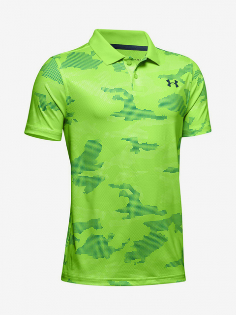 Tričko Under Armour Performance Polo 2.0 Novelty-Grn