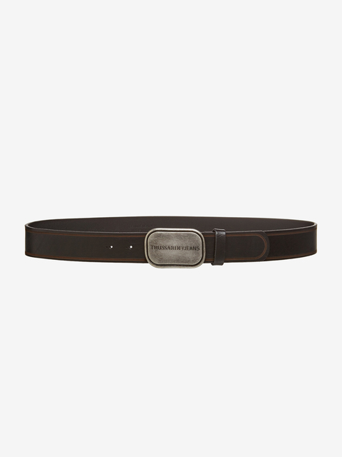 Pásek Trussardi T-Travel Weekend Travel Belt Leather