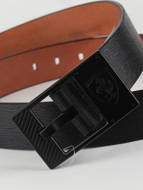 Pásek Puma SF LS Leather Belt