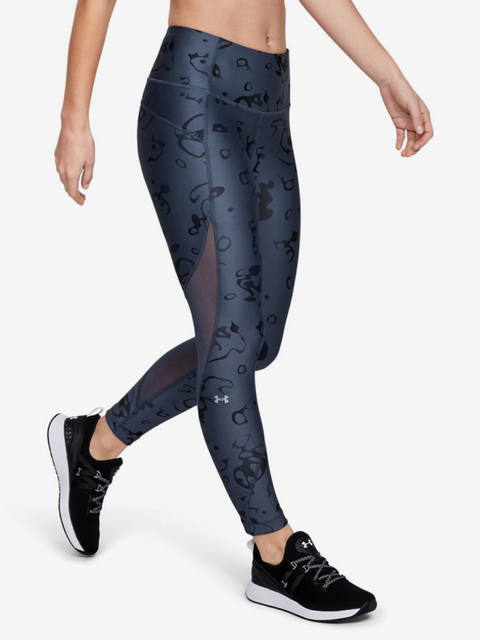 Kompresní legíny Under Armour Hg Ankle Crop - Ako Print-Gry