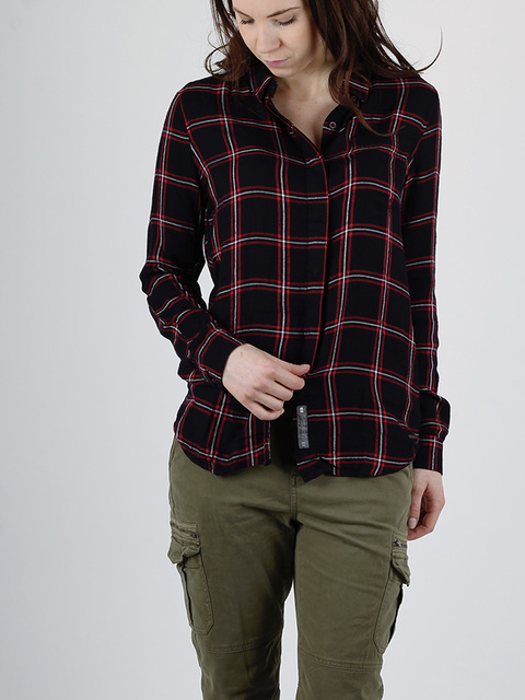 Košile Superdry SUPERSIZED CHECKED SHIRT