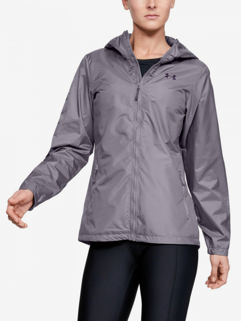 Bunda Under Armour Forefront Rain Jacket-Gry