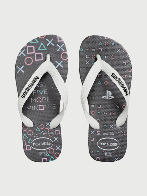 Žabky Havaianas Playstation New Graphite