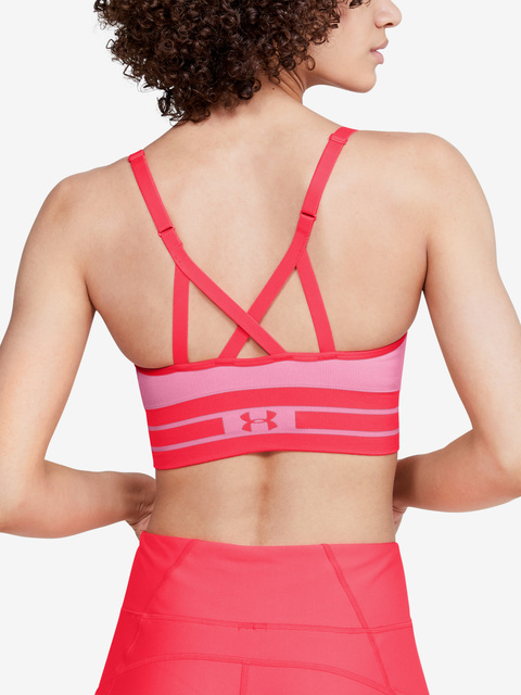 Kompresní podprsenka Under Armour Seamless Longline Bra