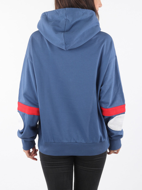 Mikina Vans Wm Bmx Hood Fleece True Navy