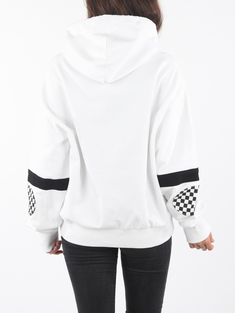 Mikina Vans Wm Bmx Hood Fleece White