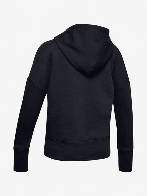 Mikina Under Armour Sportstyle Fleece Hoodie-Blk