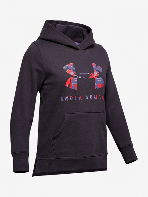 Mikina Under Armour Rival Print Fill Logo Hoodie-Ppl