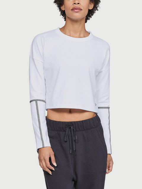 Tričko Under Armour Lighter Longer CROPPED CREW