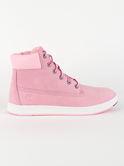 Boty Timberland Davis Square 6 Inch Prism Pink