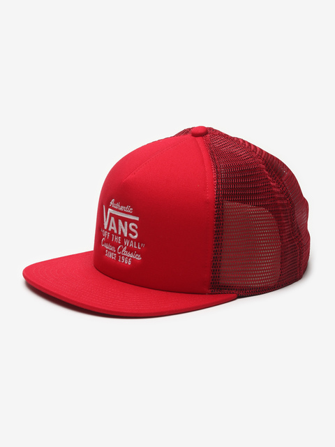 Kšiltovka Vans Mn Galer Trucker Racing Red
