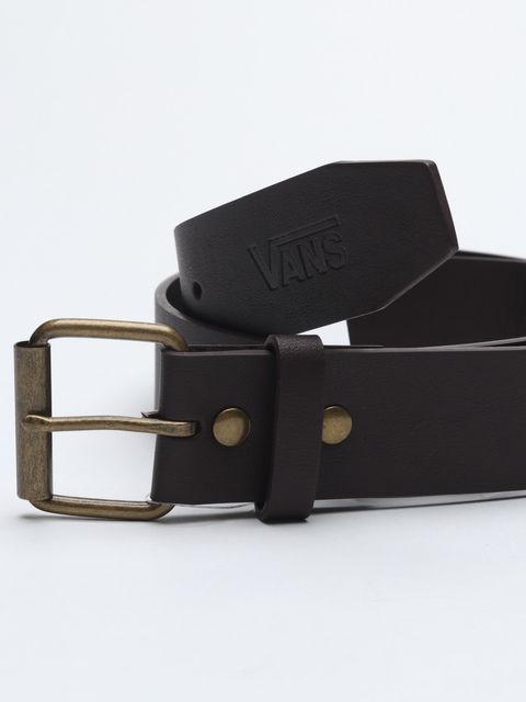 Pásek Vans Mn Hunter Ii Pu Belt Dark Brown