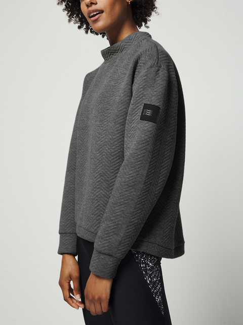 Mikina O´Neill Lw Aralia Quilted Crew