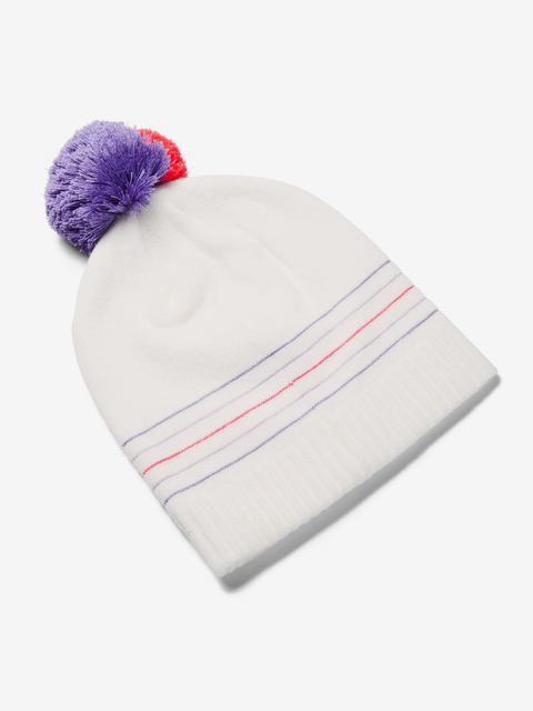 Čepice Under Armour Girl'S Triple Scoop Beanie-Wht