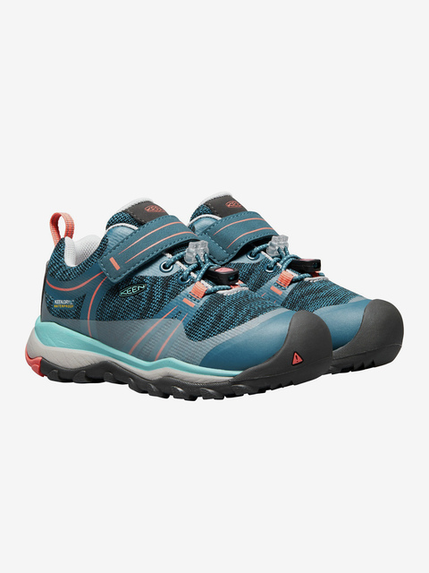 Boty Keen Terradora Low Wp K Aqua Sea/Coral