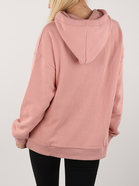 Mikina Lee Hoodie Sws Faded Pink