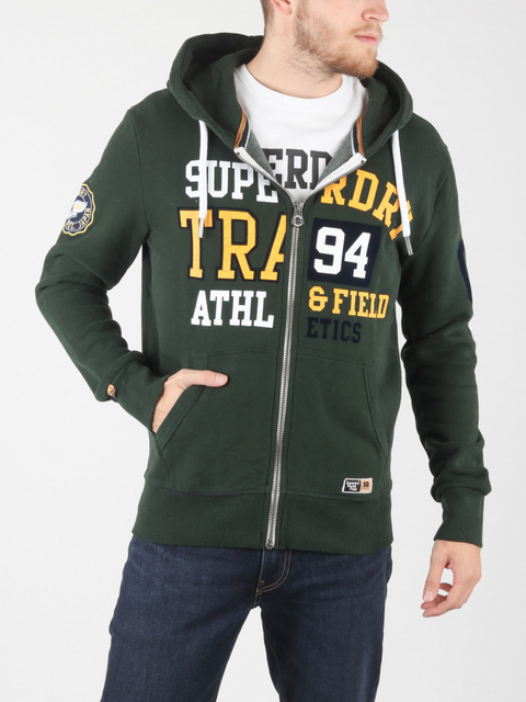 Mikina Superdry Split Track Ziphood