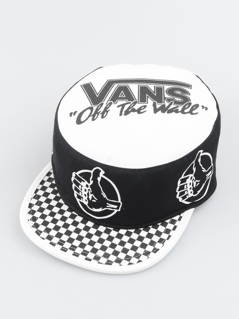 Kšiltovka Vans Mn Bmx Off The Wall Black/White