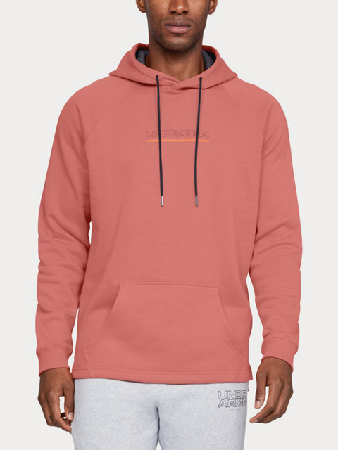 Mikina Under Armour Baseline Flc Graphic Hood