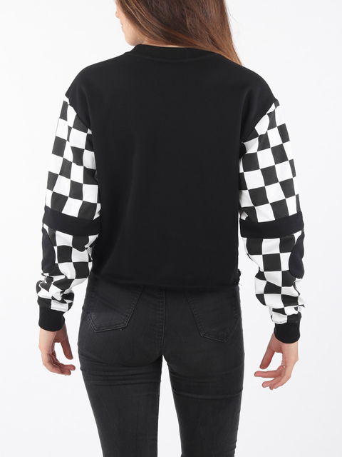 Mikina Vans Wm Bmx Crew Fleece Black