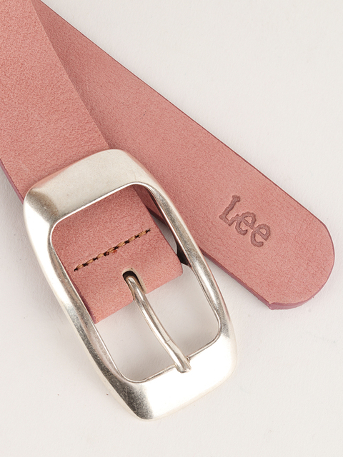 Pásek Lee Colourful Nubuck Bel Faded Pink