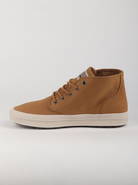 Boty Palladium Sub Mid Cvs M-Bone Brown/Birch