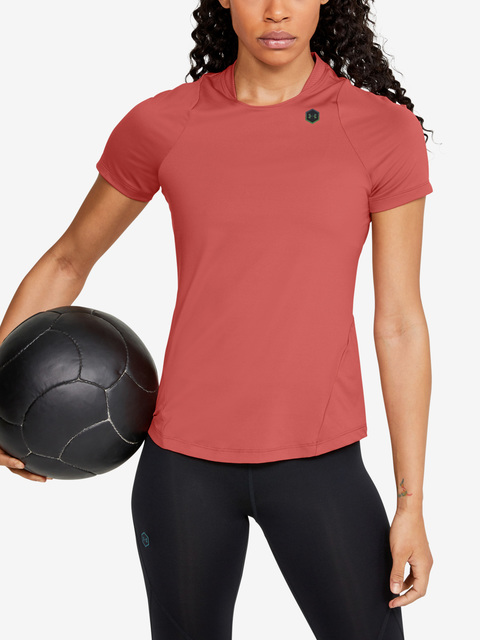 Tričko Under Armour Rush Short Sleeve-Pnk