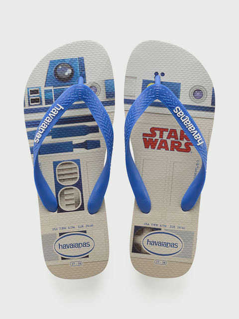 Žabky Havaianas Star Wars White/Blue Star
