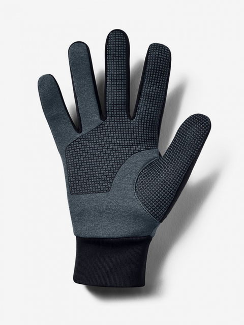 Rukavice Under Armour Mens Cgi Run Liner Glove-Gry