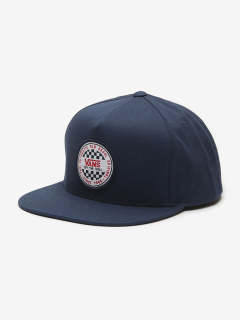 Kšiltovka Vans Mn Og Checker Snapba Dress Blues