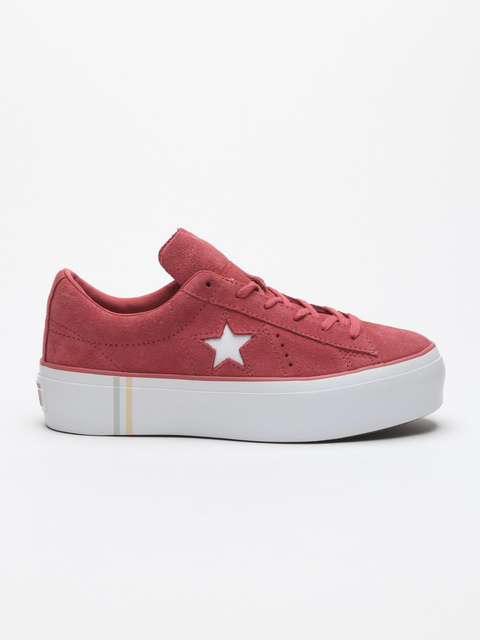 Boty Converse One Star Platform Seasonal Suede