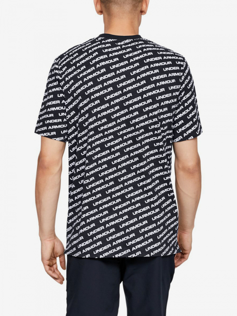 Tričko Under Armour Unstoppable Wordmark Tee-Blk