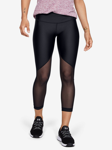 Kompresní legíny Under Armour Hg Mesh Ankle Crop - Graphic-B
