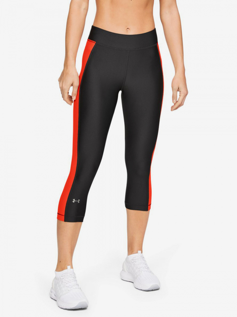 Kompresní legíny Under Armour Hg Capri-Gry