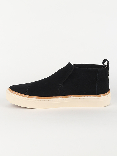 Boty Toms Black WR Suede