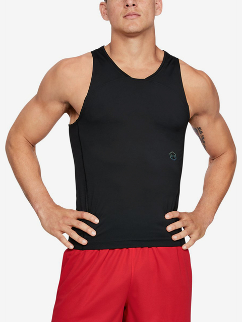 Kompresní tričko Under Armour Select Rush Tank-Blk