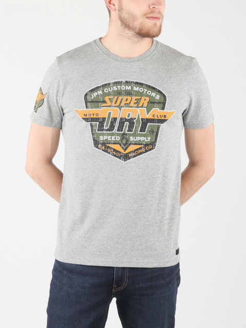 Tričko Superdry Custom Tin Tab Tee