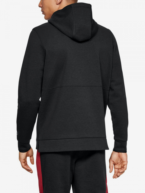 Mikina Under Armour Athlete Recovery Fleece Graphic Hoodie-B