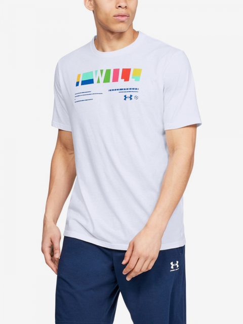 Tričko Under Armour I Will Multi-Wht