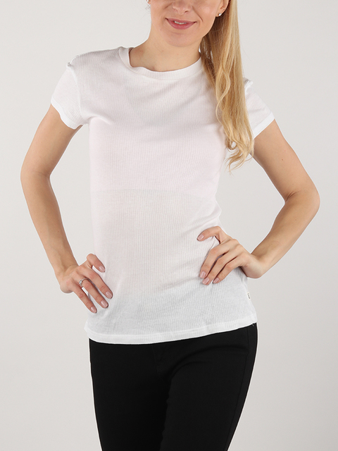 Tričko Lee Body Con Tee White