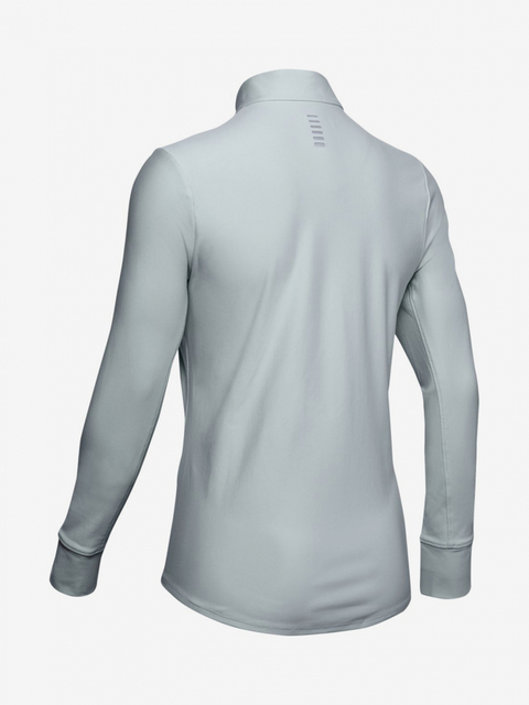 Tričko Under Armour Qualifier Half Zip-Grn