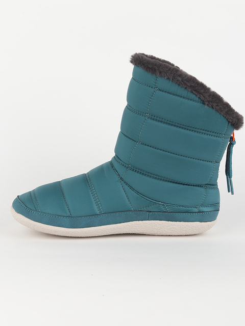 Boty Toms Stellar Blue Quilted