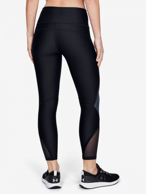 Kompresní legíny Under Armour Hg Shine Ankle Crop-Blk