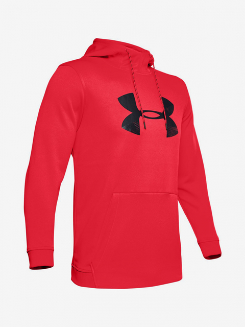Mikina Under Armour Af Po Hoodie Big Logo Graphic-Red
